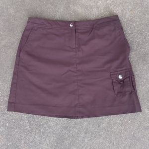 Izod Cool FX Golf Skirt with Shorts Underneath in